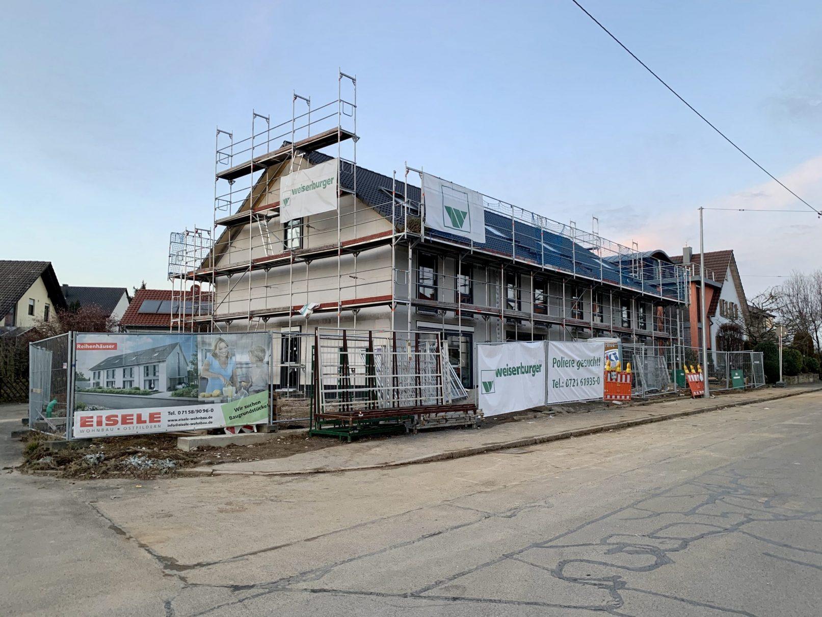 24.01.2020 - Die Fenster wurden eingebaut und die Innenausbauarbeiten haben begonnen.